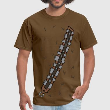 Chewbacca Chewie Bottom.png - Men's T-Shirt