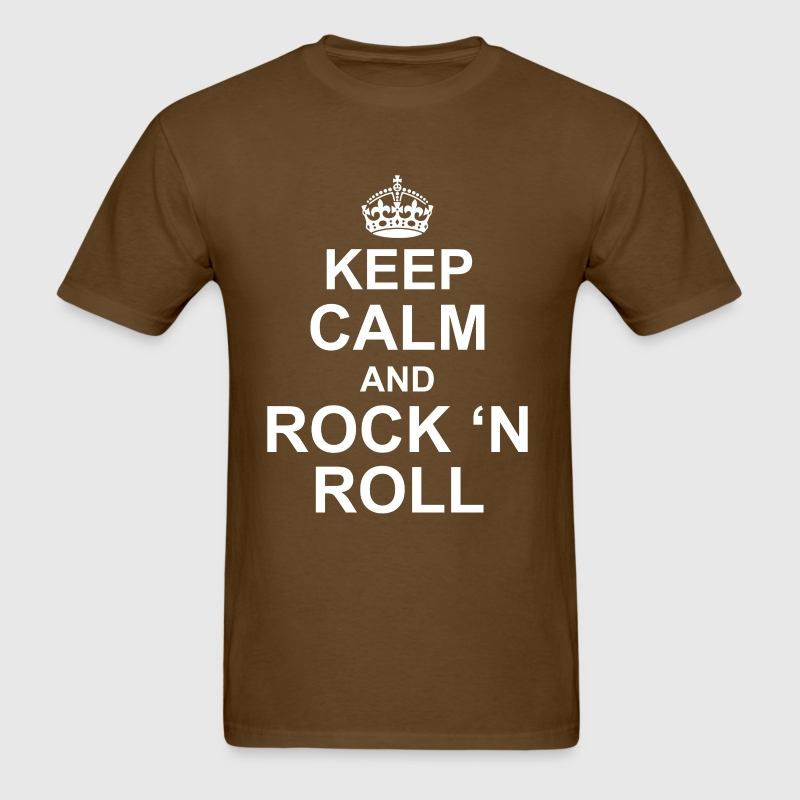 Keep calm and Rock n roll - Men's T-Shirt