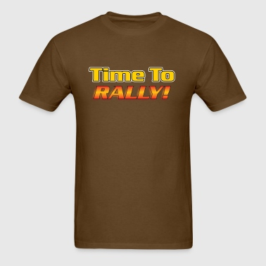 Time To Rally - Men's T-Shirt