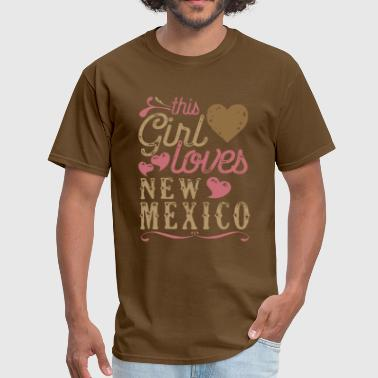 This Girl Loves New Mexico - Men's T-Shirt