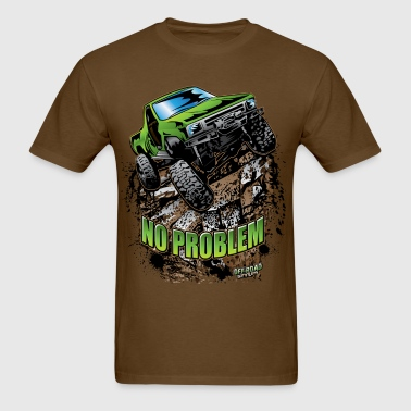 Toyota Rock Crawler Green - Men's T-Shirt