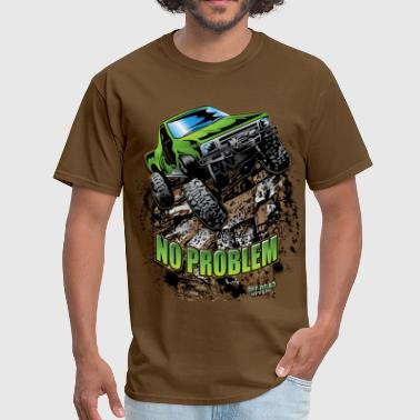 Toyota Tacoma Pickup Toyota Rock Crawler Green - Men's T-Shirt