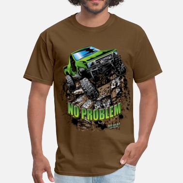4x4 Toyota Rock Crawler Green - Men's T-Shirt
