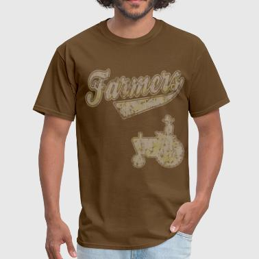 Farmers Tractor - Men's T-Shirt