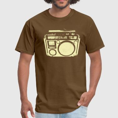 1 speaker boom box - Men's T-Shirt