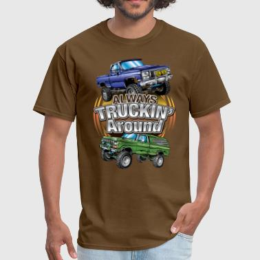 Chevy Truckin Around - Men's T-Shirt