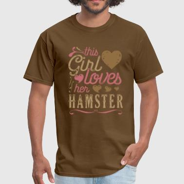 This Girl Loves Her Hamsters Hamster - Men's T-Shirt