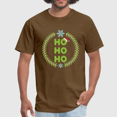 Santa - HO-HO-HO - Men's T-Shirt
