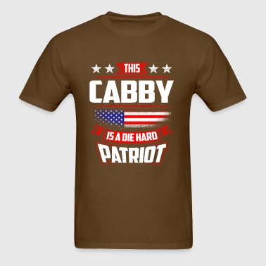 4th Of July - Die Hard Patriot Cabby Gift  - Men's T-Shirt