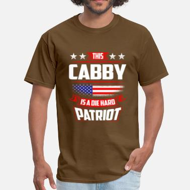 Cabby 4th Of July - Die Hard Patriot Cabby Gift  - Men's T-Shirt