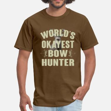 World's Okayest Bowhunter - Men's T-Shirt