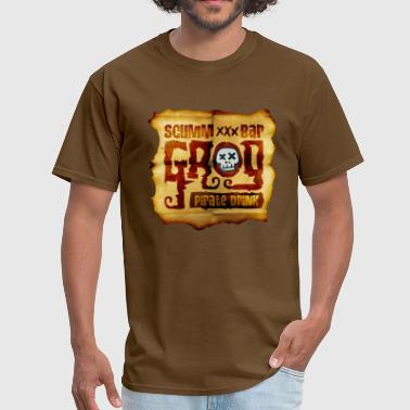 Monkey Bars Monkey Island: Scumm Bar Grog - Men's T-Shirt