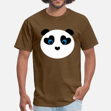 Lovin The Crew panda white - Men's T-Shirt