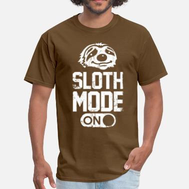 Sloth Mode On sloth_mode_on_t_shirt - Men's T-Shirt