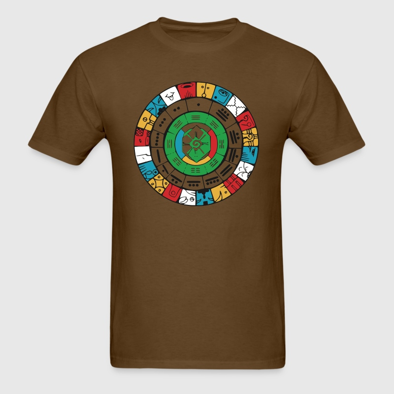 Mayan Wheel - Men's T-Shirt