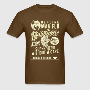 Man Flu Survivor - Men's T-Shirt