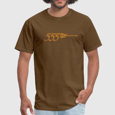 555 - Orange - Men's T-Shirt