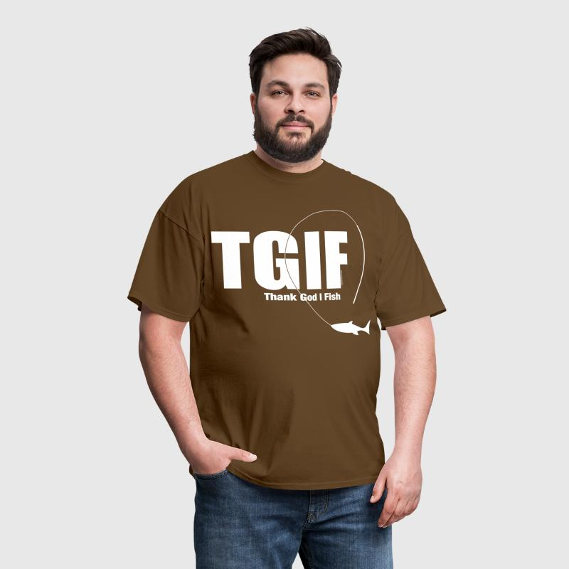 TGIF Fishing - Men's T-Shirt