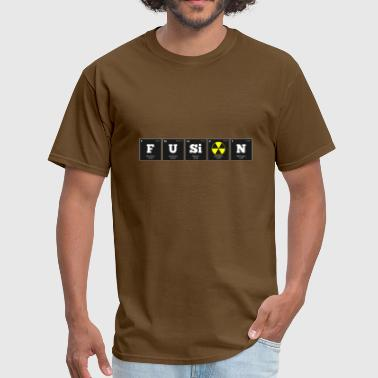 Nuclear Fusion Periodic Elements: FUSiON - Men's T-Shirt