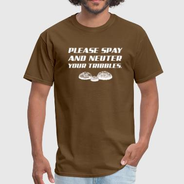 Please Spay and Neuter Your Tribbles George Takei - Men's T-Shirt
