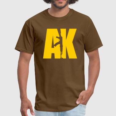 Ak Sport AK47 YELLOW - Men's T-Shirt