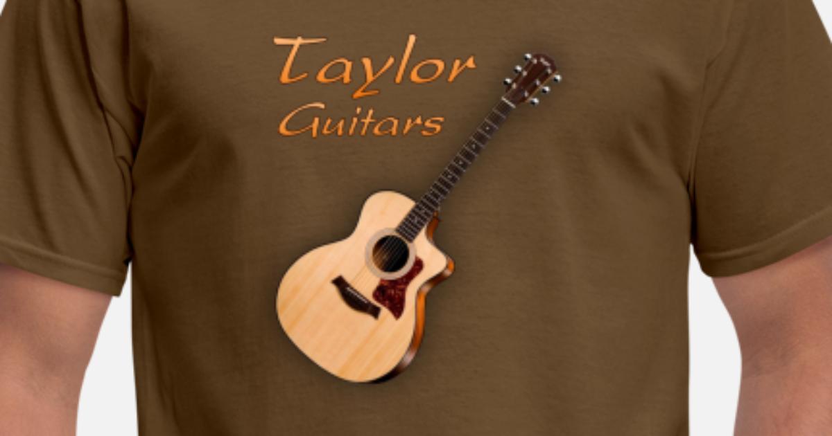 taylor guitars men 39 s t shirt spreadshirt. Black Bedroom Furniture Sets. Home Design Ideas