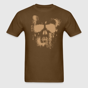 Skull Dust Punisher - BEIGE - Men's T-Shirt