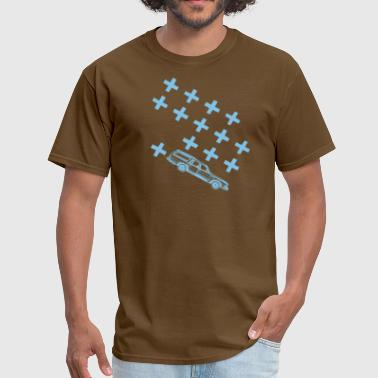 station wagon tshirt blue - Men's T-Shirt