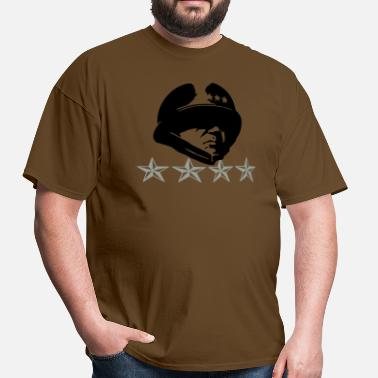 General Patton General Patton 4 Stars - Men's T-Shirt