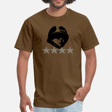 Patton General Patton 4 Stars - Men's T-Shirt