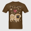 Geometric Pekingese - Men's T-Shirt
