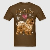 Geometric Chow Chow - Men's T-Shirt