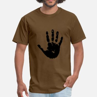Black Handprints handprint - Men's T-Shirt