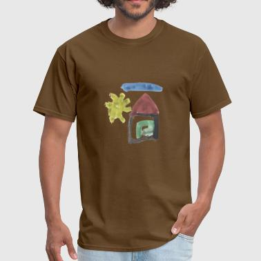 Sun House house in the sun - Men's T-Shirt