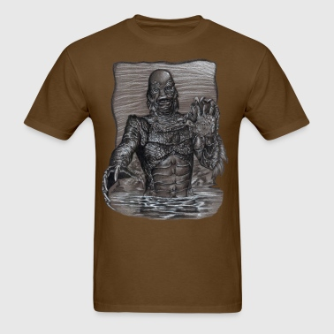 Creature From The Black Lagoon - Men's T-Shirt