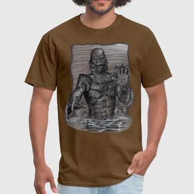 Lagoon Creature From The Black Lagoon - Men's T-Shirt
