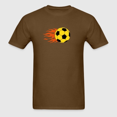 burning ball - Men's T-Shirt