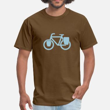 Bicycle Tour Touring Bicycle Logo - Men's T-Shirt