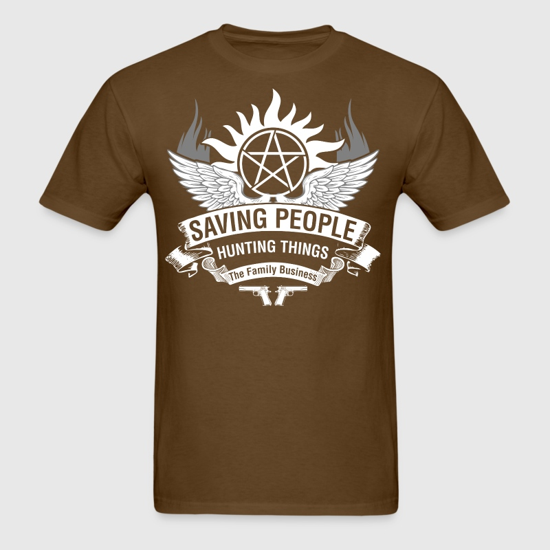 Saving People Hunting Things The Family Business - Men's T-Shirt