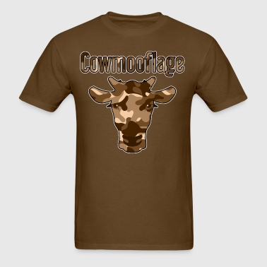 Cowmooflage BRN - Men's T-Shirt