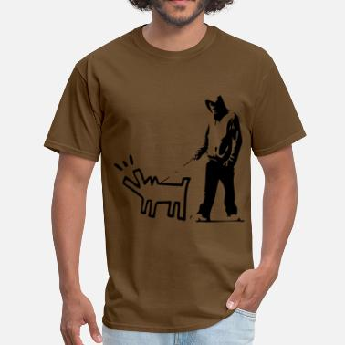 Stencil Revolution Bark stencil - Men's T-Shirt