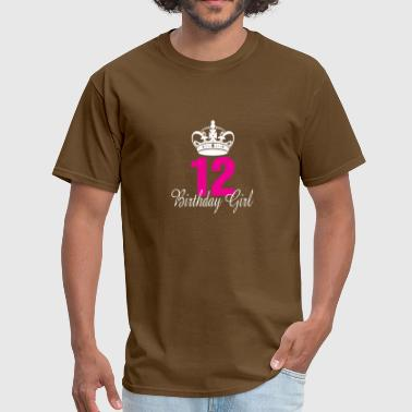 Birthday Girl 12 Birthday Girl 12 Years Old - Men's T-Shirt