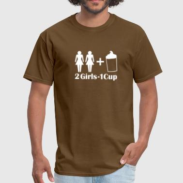 2 Girls 1 2 Girls 1 Cup - Men's T-Shirt