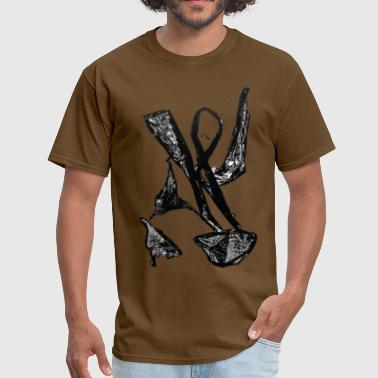 Monotype-print Monotype-print/figure-3 - Men's T-Shirt