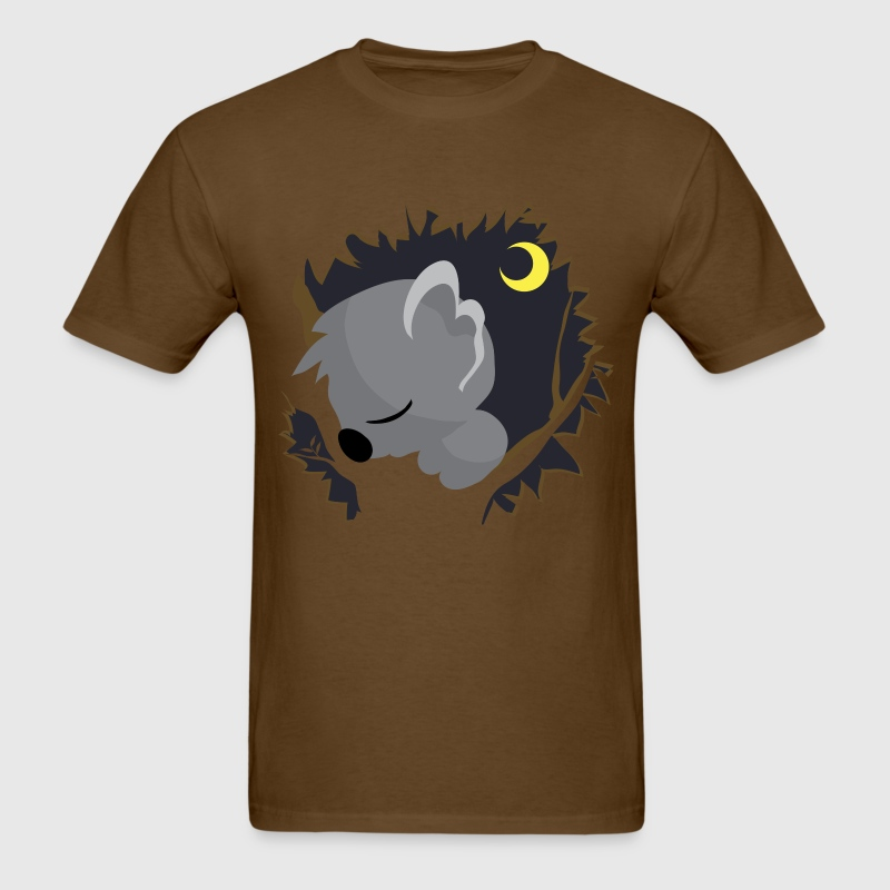 Sleeping Koala - Men's T-Shirt