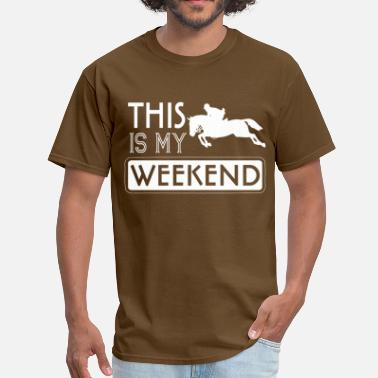 Jumpers Events Weekend Show Jumper - Men's T-Shirt