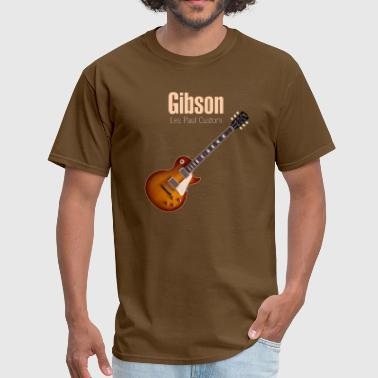 Les Paul les paul custom - Men's T-Shirt