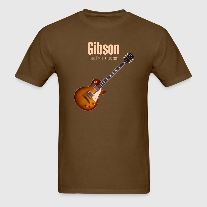 les paul custom - Men's T-Shirt