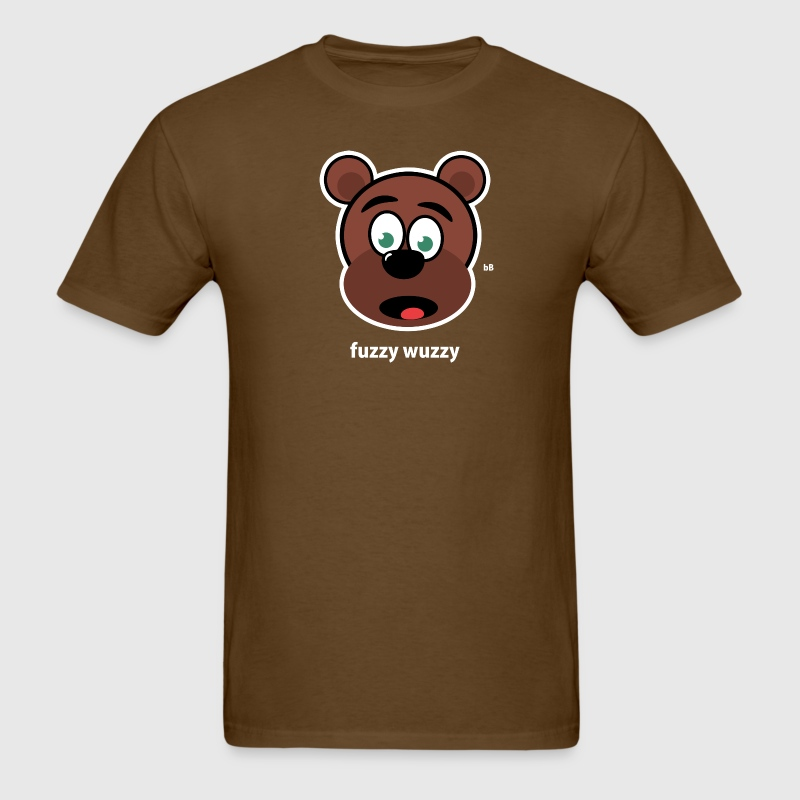 fuzzy wuzzy - Men's T-Shirt