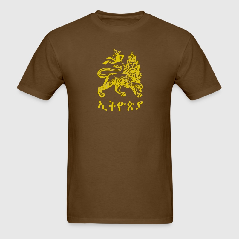 Ethiopia Lion of Judah - Men's T-Shirt